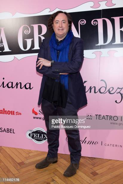 Tomas Alia attends 'La Gran Depresion' premiere at Infanta Isabel Theatre on May 19, 2011 in Madrid, Spain.