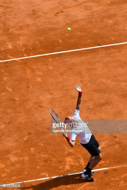 Tomas Berdych during the Monte Carlo Rolex Masters 1000 at Monte Carlo on April 16 2018 in Monaco Monaco