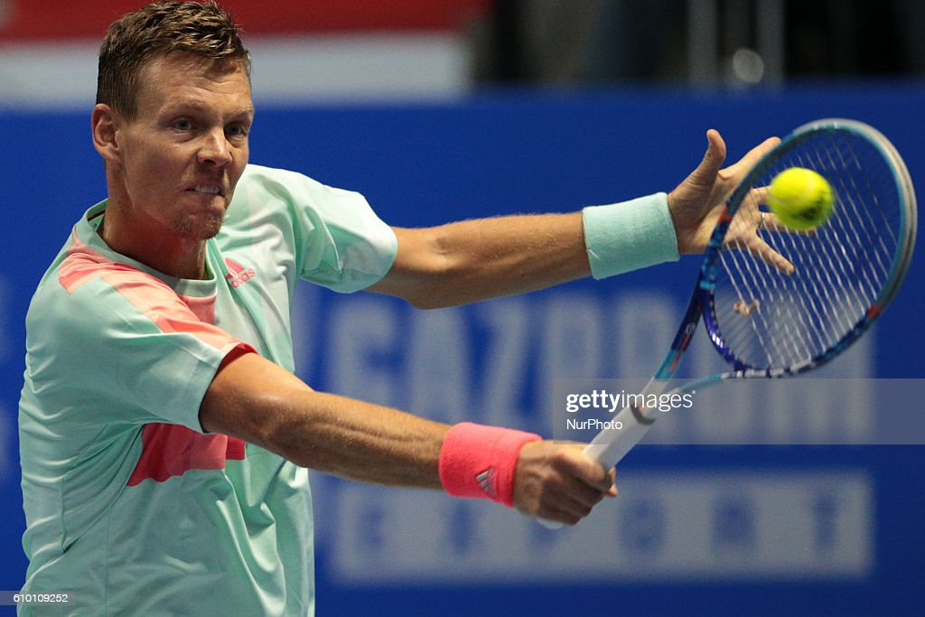 St. Petersburg Open ATP tennis tournament semifinal : News Photo