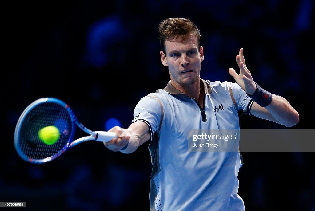 Barclays ATP World Tour Finals - Day Five : News Photo