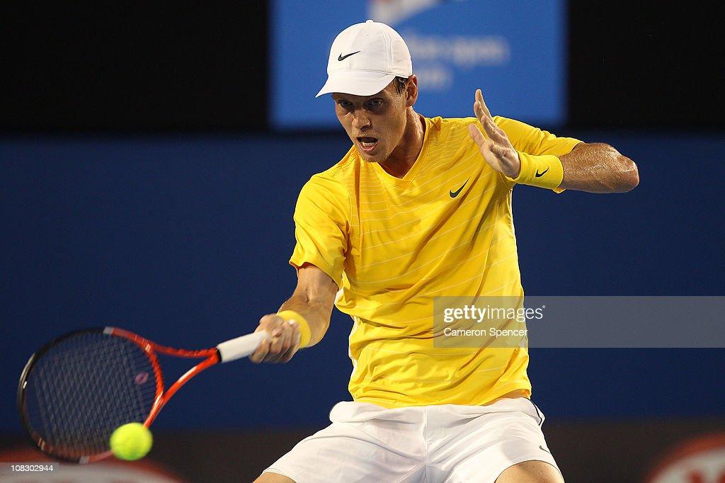 2011 Australian Open - Day 9 : ニュース写真