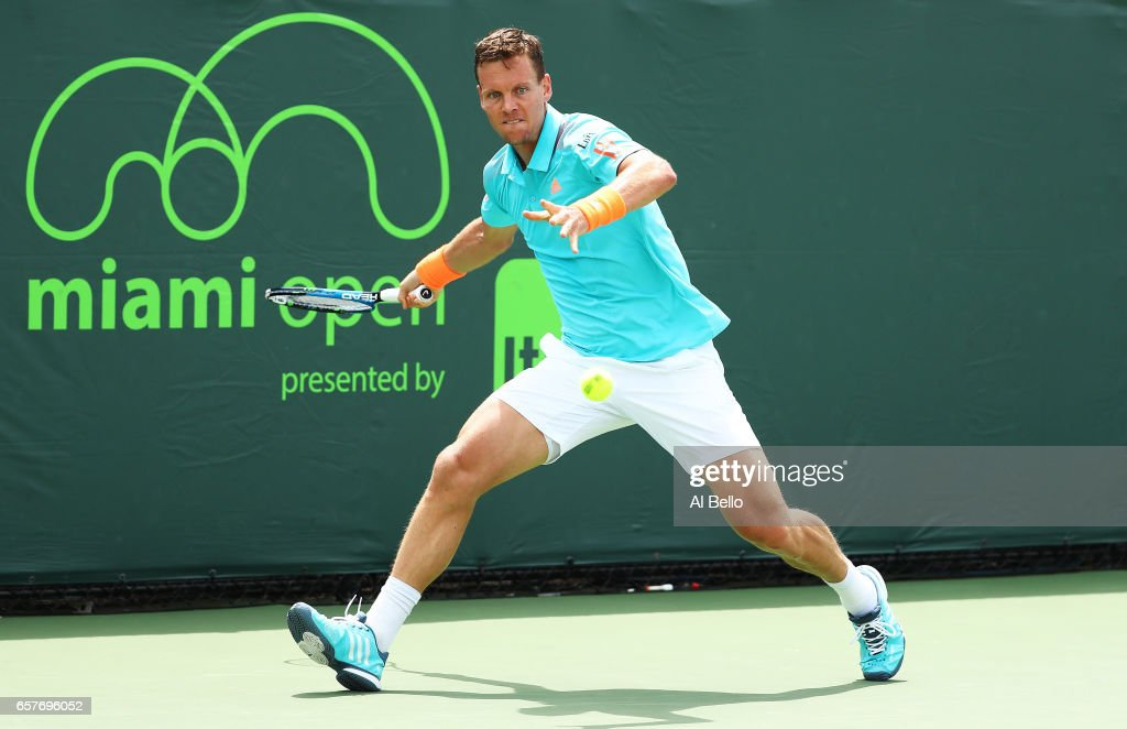 2017 Miami Open - Day 6 : News Photo