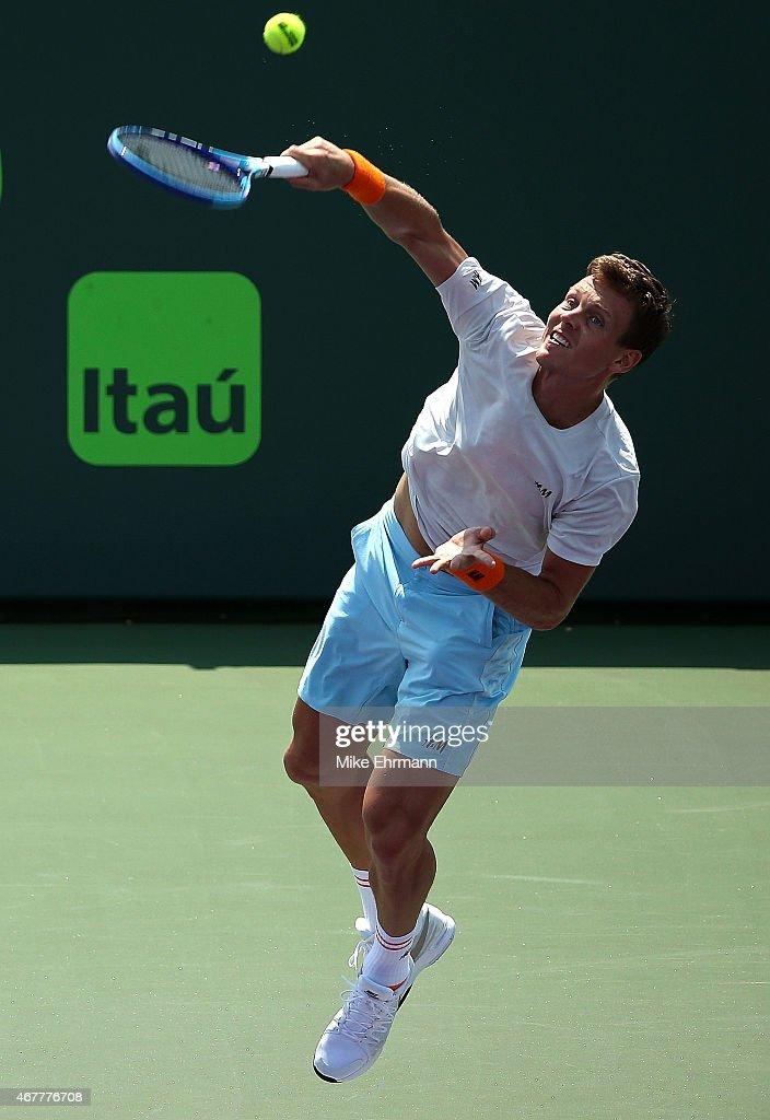 Miami Open Tennis - Day 5 : News Photo