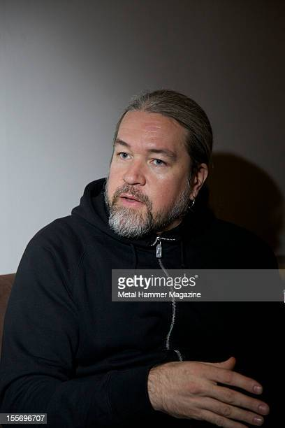 Tomas Haake, drummer of Swedish extreme metal band Meshuggah photographed during a portrait shoot for Metal Hammer Magazine/Future via Getty Images,...