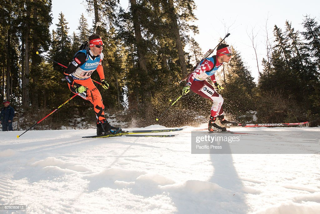 Tomas Hasilla of Slovakia and GOW Christian of Canada on the... : Nachrichtenfoto
