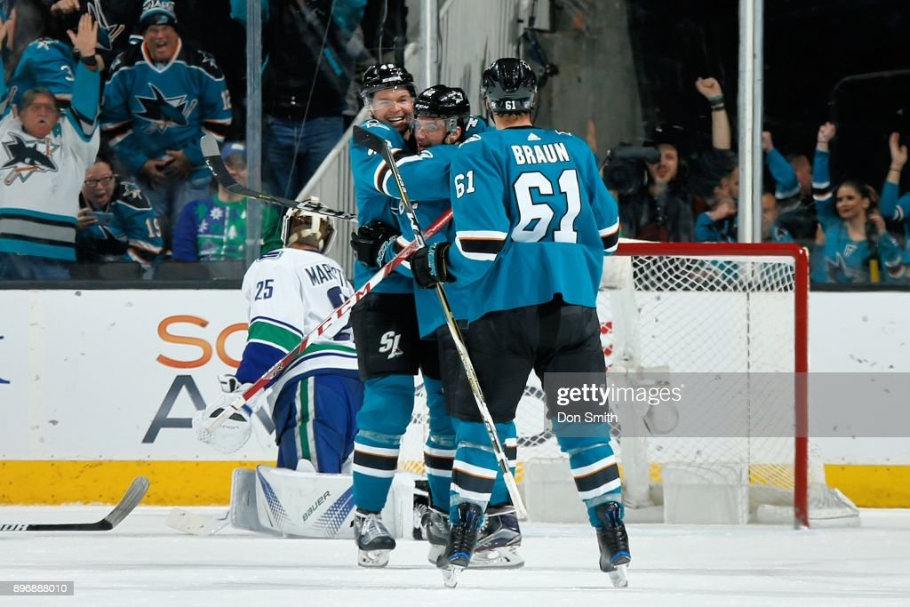 Vancouver Canucks v San Jose Sharks Photos and Images Getty Images