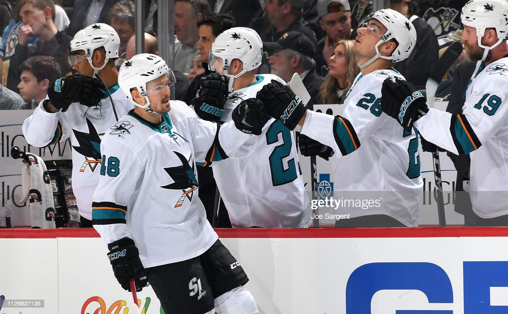 PA: San Jose Sharks v Pittsburgh Penguins
