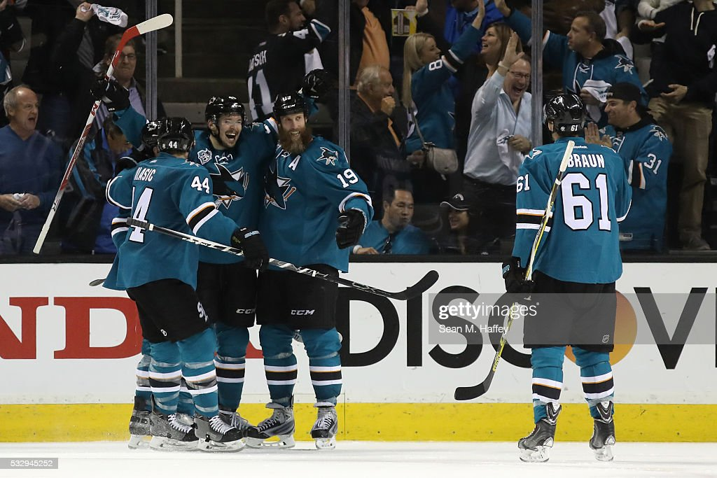 St Louis Blues v San Jose Sharks - Game Three