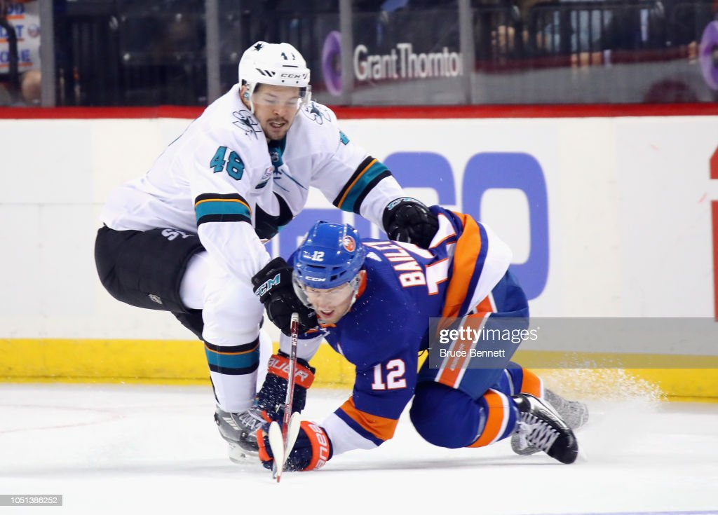 San Jose Sharks v New York Islanders : News Photo