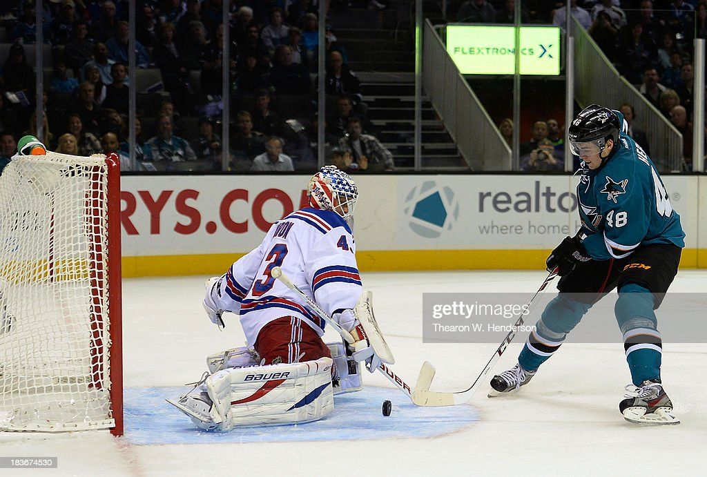 New York Rangers v San Jose Sharks : News Photo