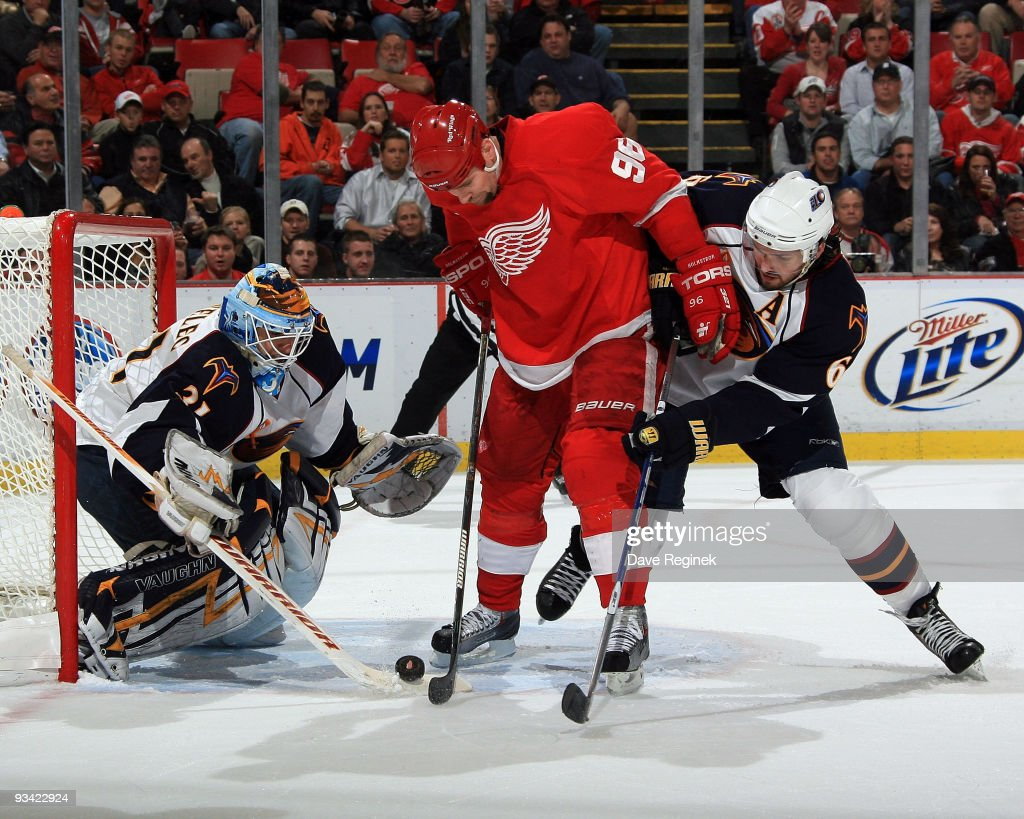 Atlanta Thrashers v Detroit Red Wings