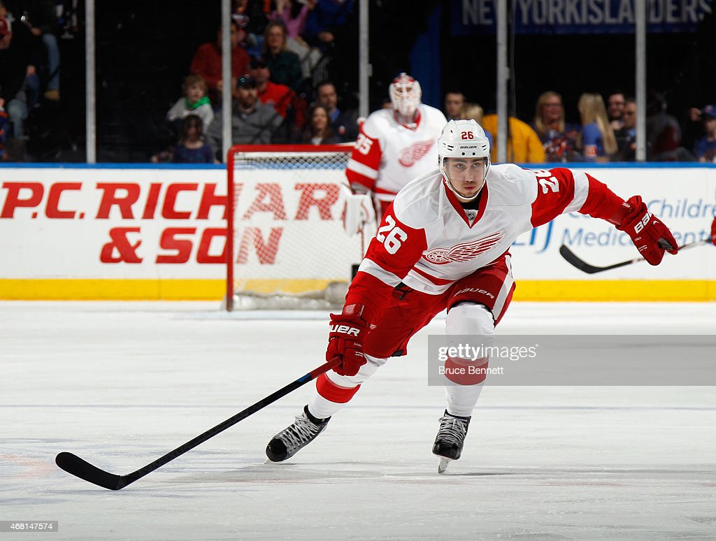 Detroit Red Wings v New York Islanders : News Photo