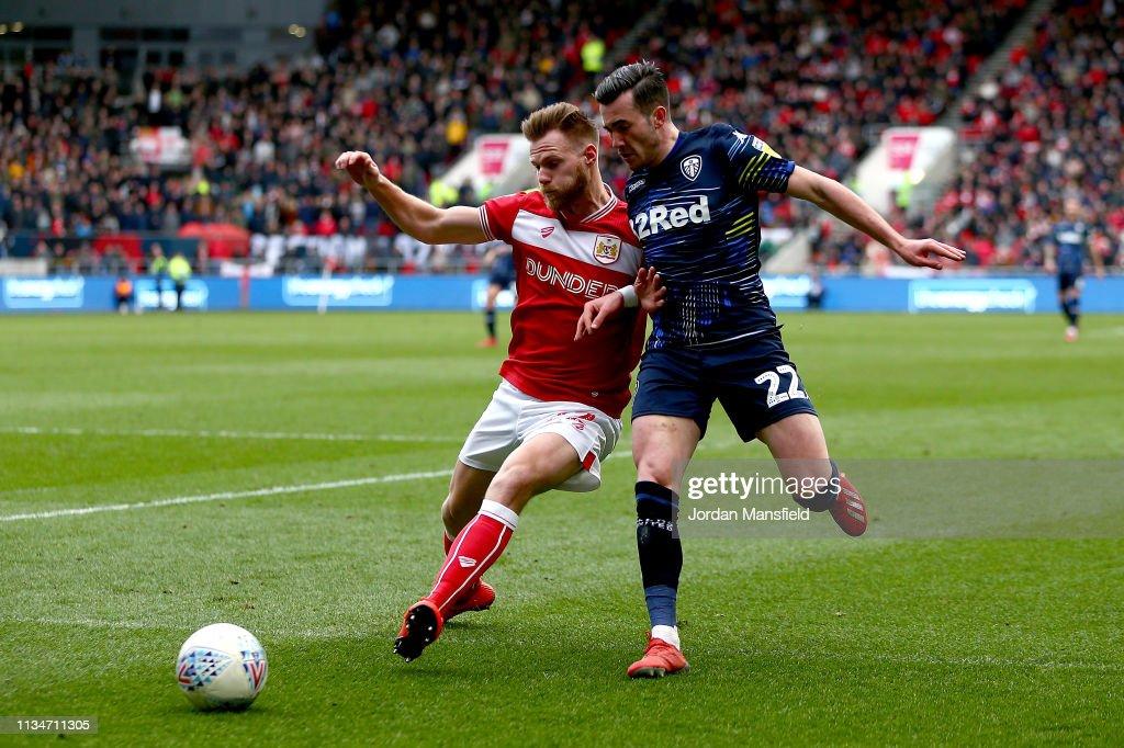 Bristol City v Leeds United - Sky Bet Championship : News Photo