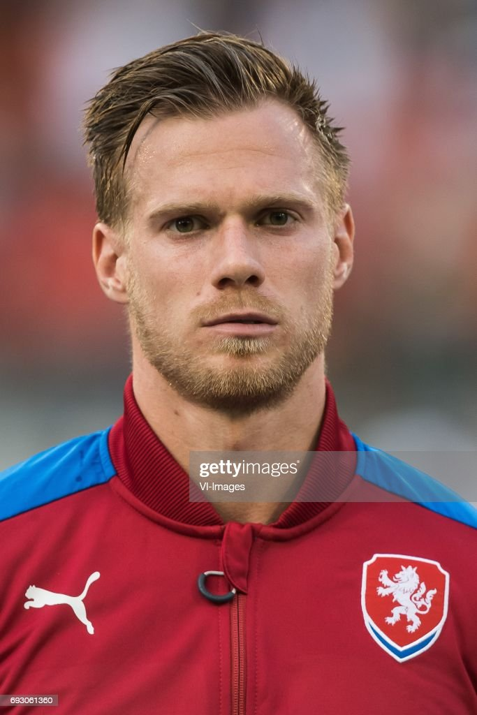 Tomas Kalas of Czech Republicduring the friendly match between Belgium and Czech Republic on June 05, 2017 at the Koning Boudewijn stadium in Brussels, Belgium.