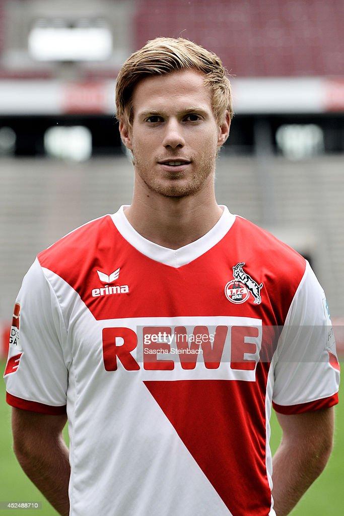Tomas Kalas poses during 1. FC Koeln team presentation at RheinEnergieStadion on July 21, 2014 in Cologne, Germany.