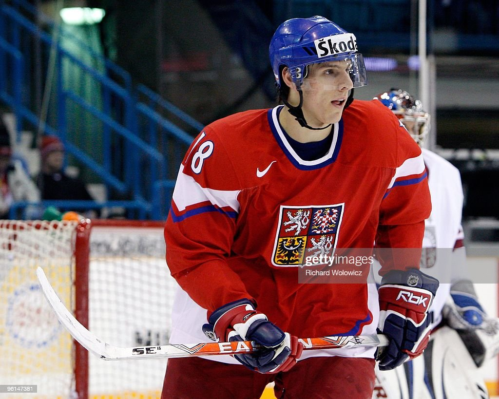 IIHF World Junior Championship - Czech Republic v Latvia : News Photo
