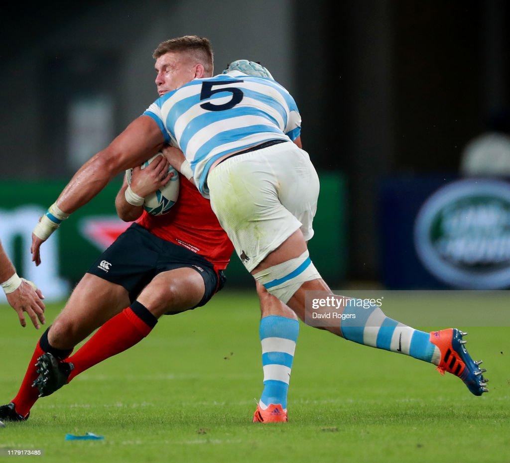 England v Argentina - Rugby World Cup 2019: Group C : ニュース写真