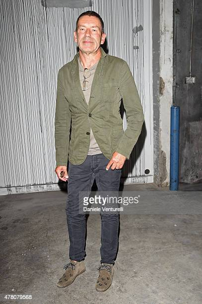 Tomas Maier attends the Gucci fashion show during the Milan Men's Fashion Week Spring/Summer 2016 on June 22 2015 in Milan Italy