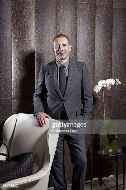 Tomas Maier, creative director of Bottega Veneta, poses for a portrait session on July 8 New York City.