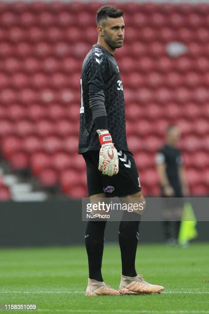 Tomas Mejias of Middlesbrough during the Pre-season Friendly match between Middlesbrough and AS Saint-tienne at the Riverside Stadium, Middlesbrough...