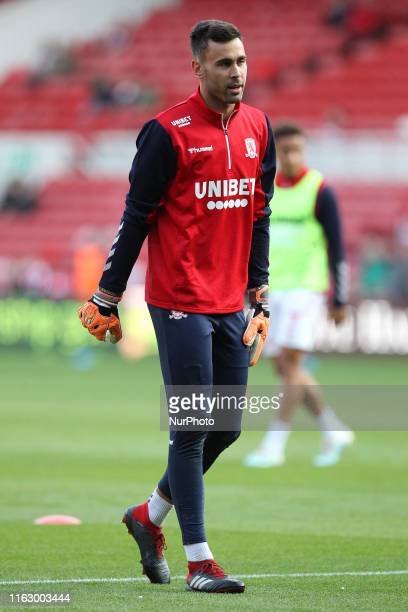 Tomas Mejias of Middlesbrough during the Sky Bet Championship match between Middlesbrough and Wigan Athletic at the Riverside Stadium, Middlesbrough...