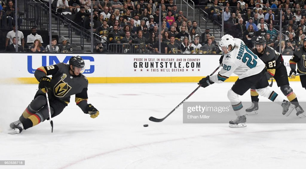 San Jose Sharks v Vegas Golden Knights - Game Two