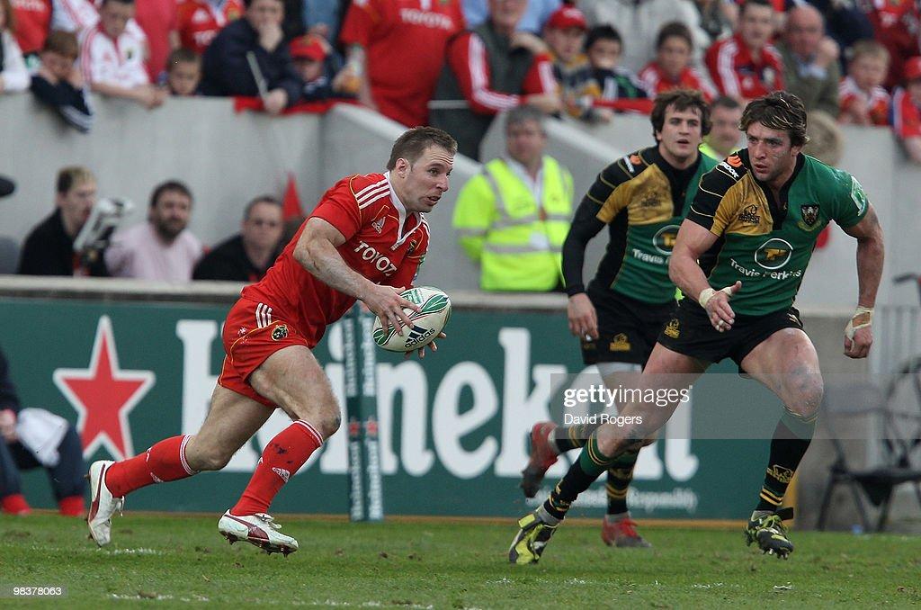 Munster v Northampton Saints - Heineken Cup Quarter Final