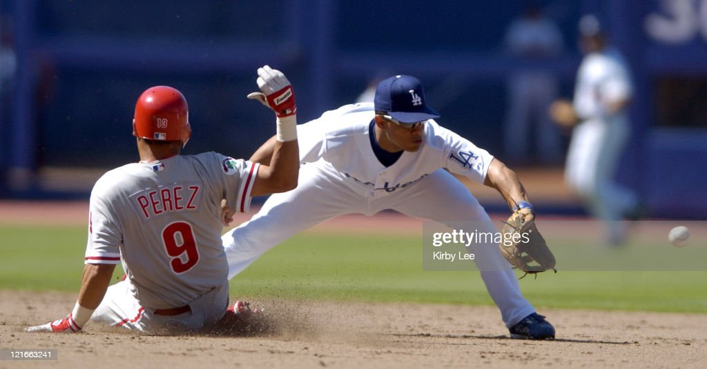 Philadelphia Phillies vs Los Angeles Dodgers - August 8, 2004