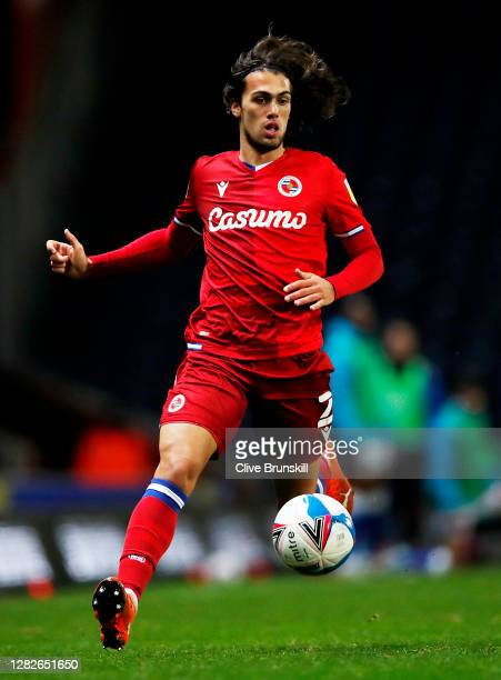 Tomas Pontes Esteves of Reading FC in action during the Sky Bet Championship match between Blackburn Rovers and Reading at Ewood Park on October 27...