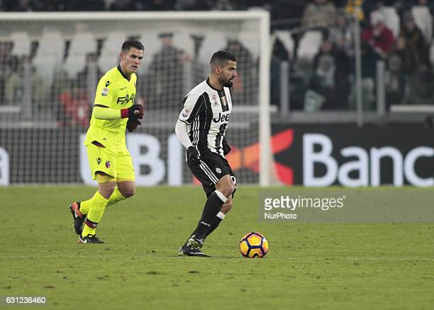 Tomas Rincon during Serie A match between Juventus v Bologna in Turin on January 08 2017