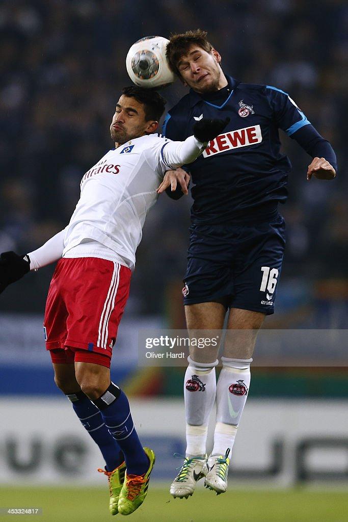 Hamburger SV v 1. FC Koeln - DFB Cup