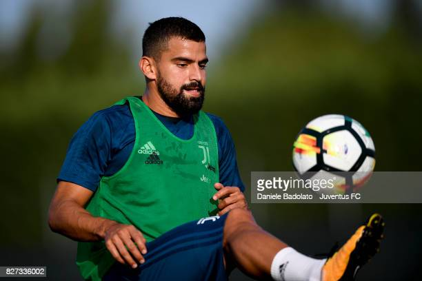 Tomas Rincon of Juventus during a training session on August 7 2017 in Vinovo Italy