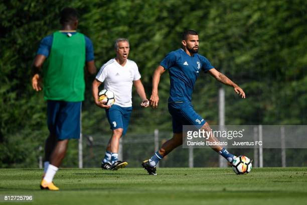 Tomas Rincon of Juventus during the afternoon training session on July 11 2017 in Vinovo Italy