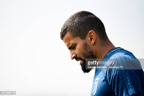 Tomas Rincon of Juventus during the morining training session on July 11 2017 in Vinovo Italy