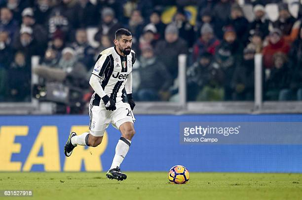 Tomas Rincon of Juventus FC in action during the TIM Cup match between Juventus FC and Atalanta BC Juventus FC wins 32 over Atalanta BC