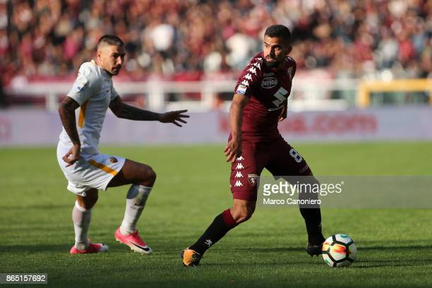 Tomas Rincon of Torino FC in action during the Serie A football match between Torino Fc and As Roma As Roma wins 10 over Torino Fc