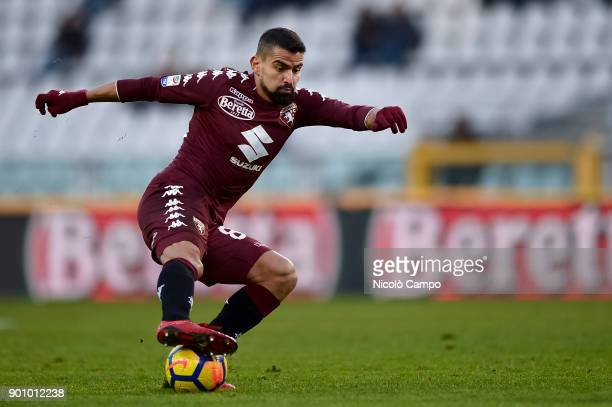 Tomas Rincon of Torino FC in action during the Serie A football match between Torino FC and Genoa CFC The match ended in a 00 tie