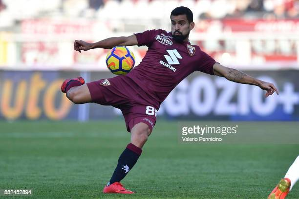 Tomas Rincon of Torino FC in action during the Serie A match between Torino FC and AC Chievo Verona at Stadio Olimpico di Torino on November 19 2017...