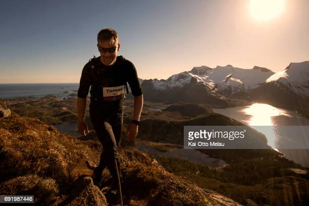 Tomas Rolland at The Arctic Triple Lofoten Ultra on June 3 2017 in Svolvar Norway The Arctic Triple Lofoten Ultra is the second of three races The...