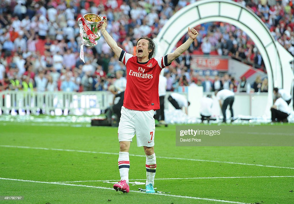 Arsenal v Hull City - FA Cup Final : Fotografia de notícias