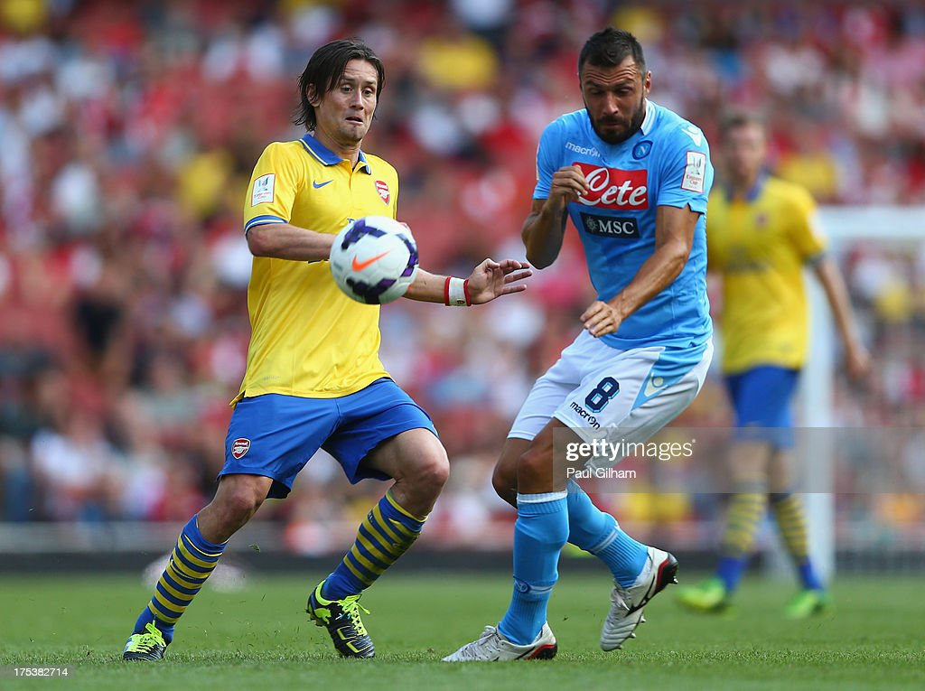 Arsenal v Napoli - Emirates Cup