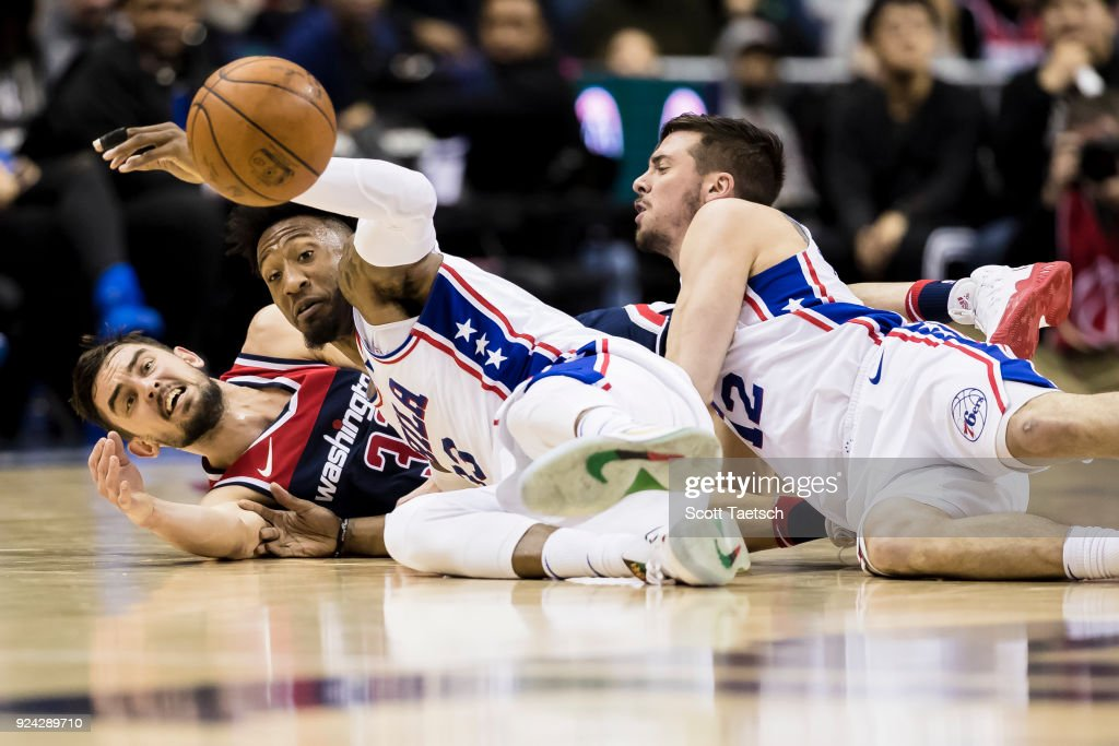 Philadelphia 76ers v Washington Wizards