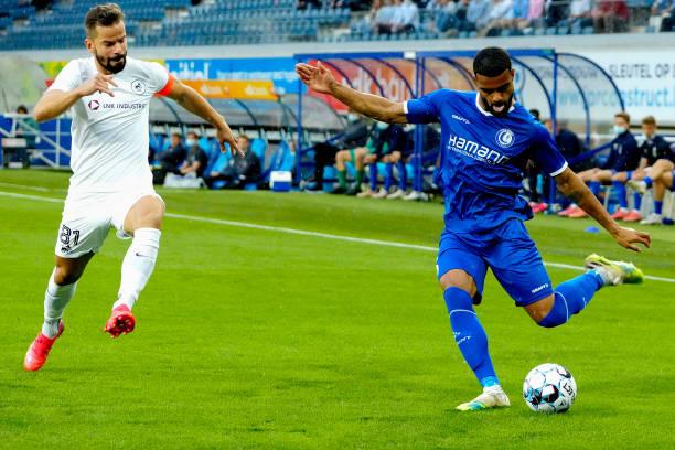 BEL: KAA Gent v RFS - UEFA Conference League: Third Qualifying Round Leg One