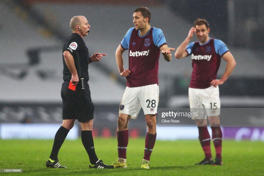 Fulham v West Ham United - Premier League : ニュース写真