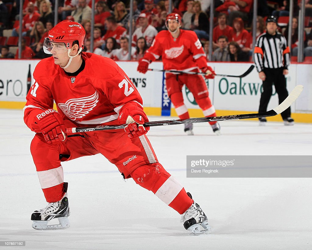 Tomas Tatar Of The Detroit Red Wings Turns Up Ice During An Nhl Game News Photo Getty Images