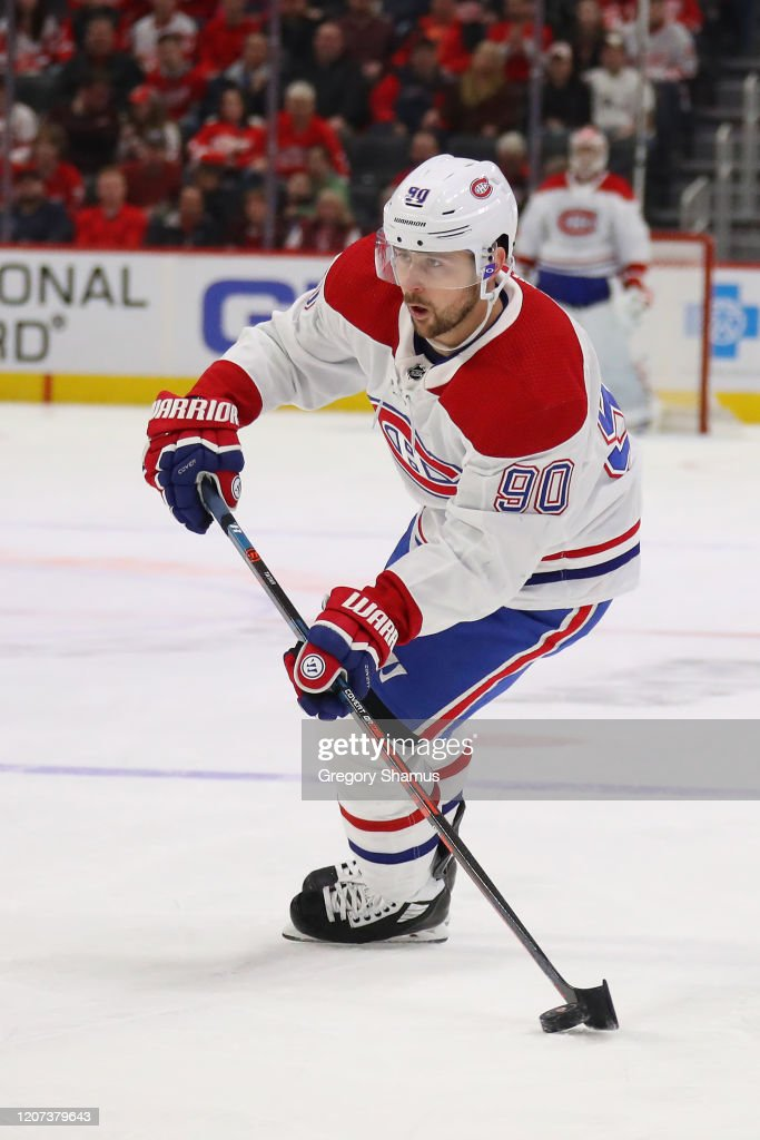 Tomas Tatar Of The Montreal Canadiens Skates Against The Detroit Red News Photo Getty Images