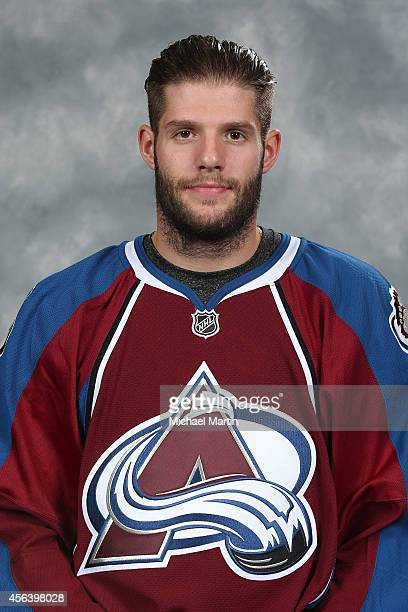 Tomas Vincour of the Colorado Avalanche poses for his official headshot for the 20142015 NHL season on September 18 2014 in Denver Colorado