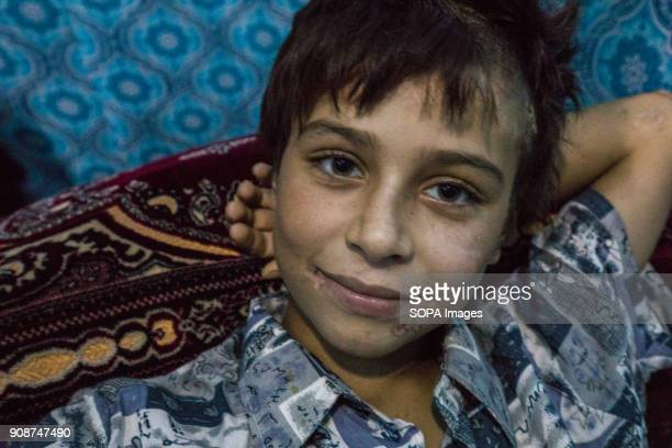 Tomas was 8 while he was kidnapped by IS fighters He hasn't seen his parents in three years Thomas an 11year old Yazidi boy from Shingal who was...