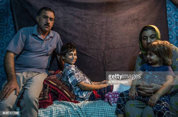 Tomas with his family after 3 years Thomas an 11year old Yazidi boy from Shingal who was kidnapped by ISIL three years ago taken away from his...
