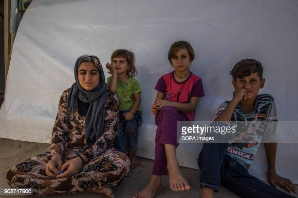 Tomas's mother and siblings One of the kids is still missing and the family are still expecting to see her again Thomas an 11year old Yazidi boy from...